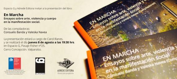 invitacion ESPACIO G - EN MARCHA